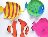 Ocean Lessons & Crafts / Resources to teach about marine life, oceans, and coral reefs