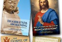 Spiritual Books / Books which inform, inspire, uplift, and entertain, on spiritual subjects.