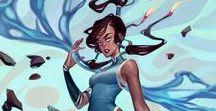 "art | avatar - the legend of korra / ""Be the leaf."""