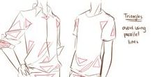 art tutorials | clothes