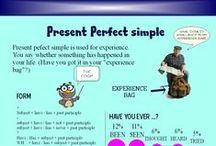 English - Verb Tenses (A0-B1) / English Verb Tenses for a perfect grammar. How to use English. Types of Verbs. Passive/Active voice.
