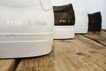 Sneakers / All styles and types of sneakers from; New Balance, Converse, Filling Pieces, Common Projects and Superga.