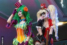 DC cosplays.