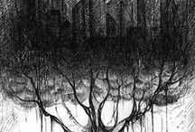 art | hachuras