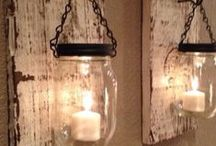 Mason Jar Mania / Marvelous modifications of mason jars