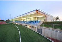 Magaluf Athletics Track / Athletics Track building in Magaluf (Calvià - Mallorca)