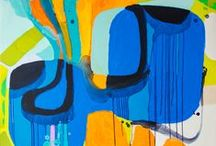 abstract art  / experience on canvas