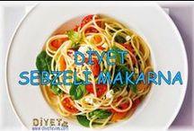 Diyet Yemekleri / Diyet yapanlar için birbirinden lezzetli kalorisi düşük yemekler, aparatifler