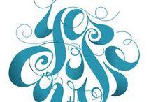 Typography / шрифты, типографика, inspirations