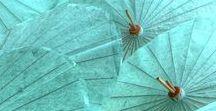 shades of aqua