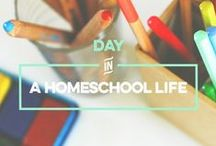 Day in a Homeschool Life / Why not build some community by sharing a bit about what you do? Join me for a series of blog posts called Day in a Homeschool Life where you share about your typical homeschool day and also read about how other homeschool families roll on a regular basis.