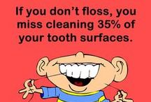 Flossing / Only brushing teeth twice or thrice is not enough for taking proper care of your oral hygiene. .By flossing daily, you help remove plaque from the areas between your teeth where the toothbrush can't reach. Learn flossing tips and know the benefits of flossing