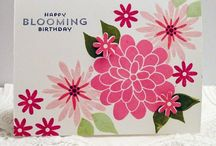 Flower patch (Stampin up)