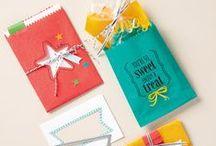 """Mini treat bag (Stampin up) / Lauter Ideen zum Selbermachen für die Framelits """"Mini Treat Bag"""" (Mini Leckereien Tüte) von stampin up"""