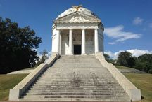 Vicksburg National Park, Mississippi / Civil war battlefield and memorials