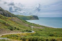 Nant Gwrtheryn, North Wales / http://sightseeingshoes.blogspot.co.uk/2015/08/nant-gwrtheyrn.html