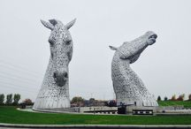 Helix Park: The Kelpies / Falkirk, Scotland