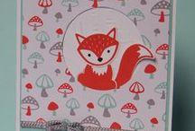 Foxy Friends (Stampin Up) / Tolle Inspirationen und Ideen für die süßen Foxy Friends von Stampin up