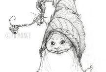 Art gnomes & pixies