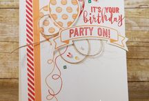 Ballonparty (Stampin up)