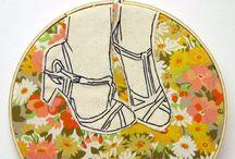 Cross stitch***Broderie / Broderie / by Melanie Gruber