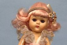 Dolls - vintage. / Dolls from about 1920-1970. / by Quenna Parker