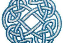 5 Celtic patterns - Keltische patronen