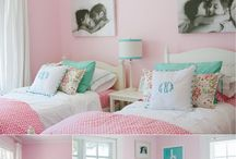 Sugar & Spice Spaces / Cute ideas for my daughters rooms / by Amber Burr