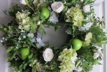 Wreaths / Beautiful wreaths for every room, every season. Available at Nana's Bungalow