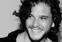 Kit Harington / His beautiful sexy smile / by beebee