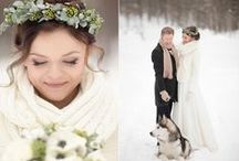 Winter Wedding / Ideas and Decor for winter weddings