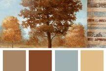 5 Color Palettes-kleurenschema's