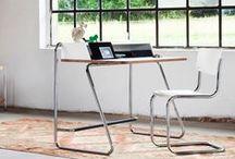 Tubular Steel Furniture / Furniture made primarily from bent tubular steel.