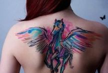 Color me BADASS / variety of ideas i have been looking at for my first tatt...
