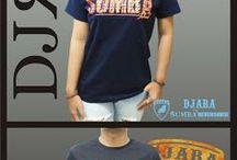 Kaos Sumba Kerren / Kaos/baju dengan desain tentang budaya di pulau Sumba, Nusa Tenggara Timur, Indonesia