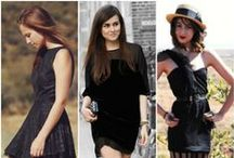 "the LBD files / ""One is never over or under dressed with a Little Black Dress""  - Karl Lagerfeld"