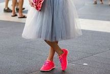 Sneaker & Dresses / Comfort and Style - No better combo than sneakers and dresses....