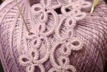 8 Crochet - Tatting / Handwerken