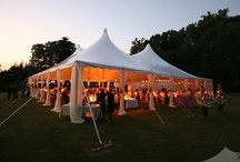 Weddings & Events / Weddings and events featuring our tents, lighting, dancefloors, furniture and custom draping.