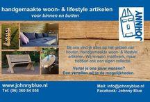 JohnnyBlue / Maatwerk houten meubels en accessoires voor binnen & buiten