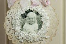 crafts made of lace paper napkins / Кружевные бумажные салфетки