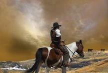 Cowboys / Celebrating America's cowboys in the arena and on the range. #CowboyUp Drysdales.com rugged resilient tough Western men