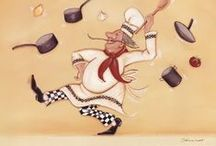Картинки для творчества - кулинария; кулинарные книги
