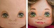 глаза, личики