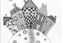 Zentangle / интуитивное рисование