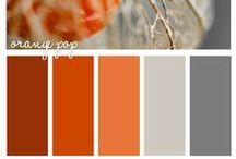 UI - Colour Orange Schematas / Orange Colour Scheme inspiration