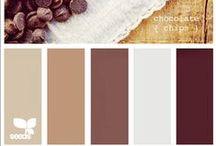 UI - Colour Brown Schematas / Brown Colour Schemes & inspiration.