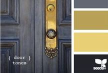 UI - Colour Yellow Schemata / Inspiration for yellow tone UI design