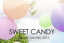 Sweet Candy - lookbook czerwiec / Modne ubrania na lato, eleganckie spódnice i sukienki na wesele i nie tylko...