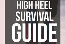 High Heel Survival Guide / How to look after your feet in high heels